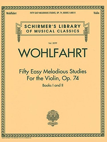 Franz Wohlfahrt – Fifty Easy Melodious Studies for for sale  Delivered anywhere in USA