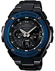 Casio Mens GST-S110BD-1A2DR G-SHOCK G-STEEL Solar Powered Watch