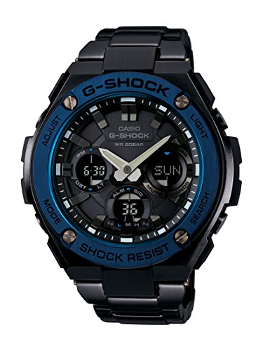 Casio GST S110BD 1A2DR G SHOCK G STEEL Powered