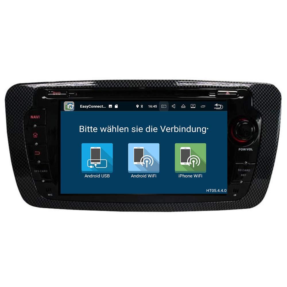 231f14d159a7 taffio Seat Ibiza Android 8 Auto Radio Pantalla Táctil GPS 3D Navi ...