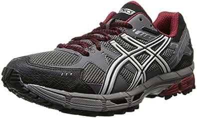 ASICS Men's Gel-Kahana 7 Running Shoe,Titanium/Lightning/Red,6 M US