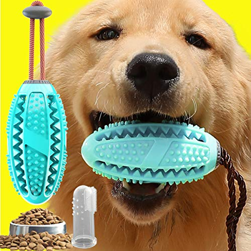 USWT Food Dispensing Dog Toy, Dog Tooth Cleaning Chew Toys