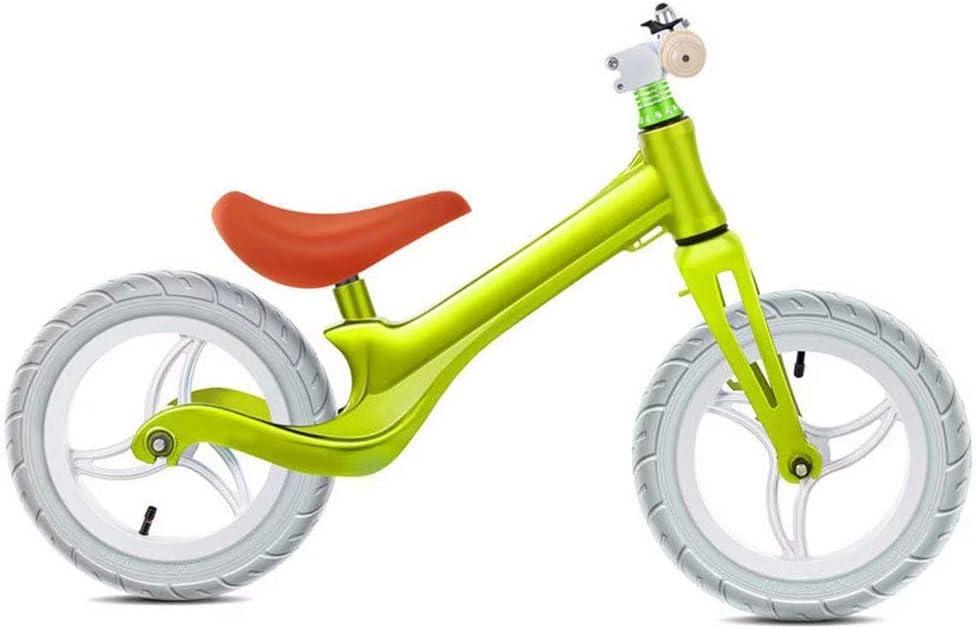 ZLXLX Bicicleta de equilibrio para coche de entrenamiento - Bicicleta de entrenamiento para niños pequeños de 18 meses, niños de 2-6 años - Bicicletas de empuje de colores ultrafrescos para niños peq