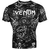 Venum Art Rash Guard - Short Sleeve - for Men - Fitness No-Gi BJJ Gym Crossfit