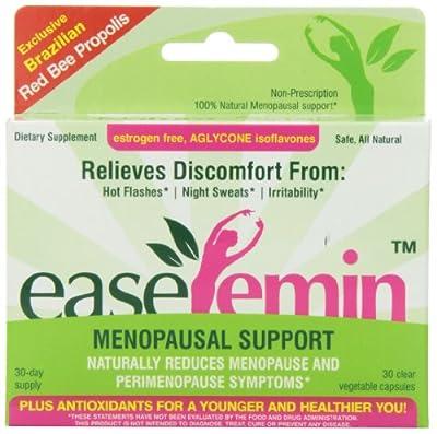 NaturaNectar Easefemin Menopausal Support Capsules, 30 Count