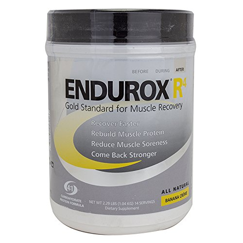Pacific Health Food Endurox R4 14-Serving Drink Mix Banana Creame Jar