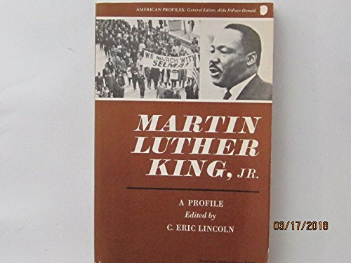 Books : Martin Luther King Jr: A Profile (American Century Series)