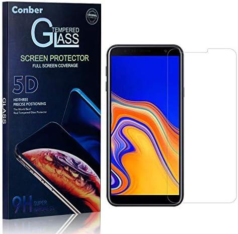 Conber Panzerglasfolie für Samsung Galaxy J4 Core, [1 Stück] 9H gehärtes Glas, Kratzfest, Blasenfrei, Hülle Freundllich Hochwertiger Panzerglas Schutzfolie für Samsung Galaxy J4 Core