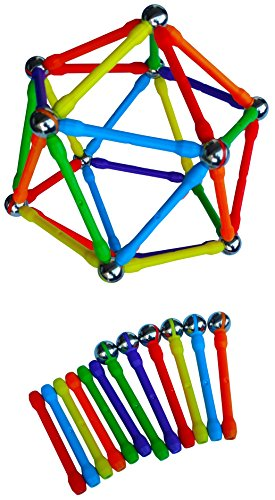 (Magziod 96 magnetic building set with No Loose Balls! Offered exclusively by MAGZ)
