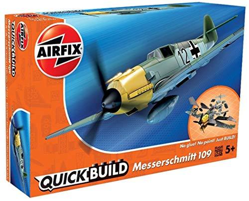 Airfix Quickbuild Messerschmitt 109 Airplane Model Kit (Airfix Models)