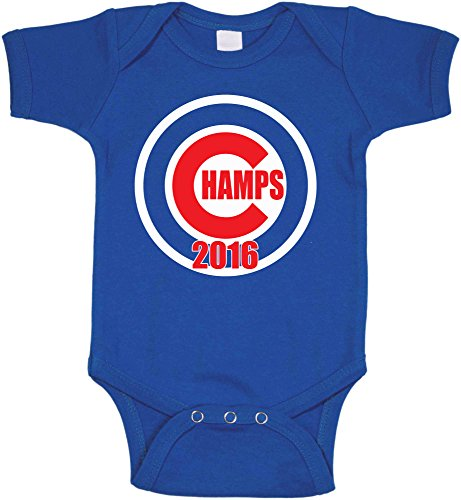 Cubs Chicago Onesie (The Silo BLUE Chicago
