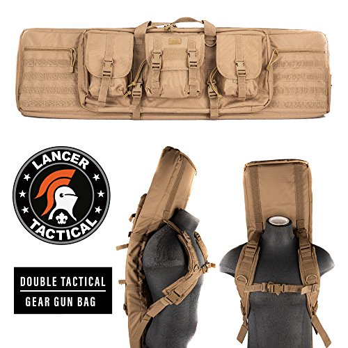 Lancer Tactical 36' MOLLE Padded Double Airsoft Gun Bag
