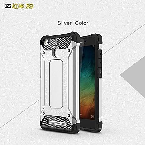 Amazon.com: meirishun – Carcasa de metal doble, diseño de ...