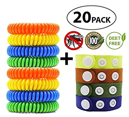 Garden Supplies Hot 10pcs Mosquito Repellent Bracelet Hand Strap Fabric Mosquito Repellent Wrist Pest Control Repeller Outdoor Insect Bracelet Up-To-Date Styling Repellents