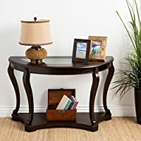 Geurts Espresso Focal Point Sturdy Sofa Table