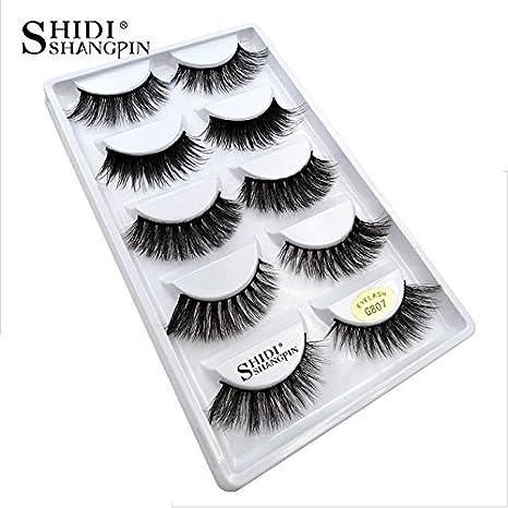 2fa96e3b291 Buy Generic 807: SHIDISHANGPIN 1 box mink eyelashes natural long 3d mink  lashes hand made false lashes plastic cotton stalk makeup false eyelash  Online at ...