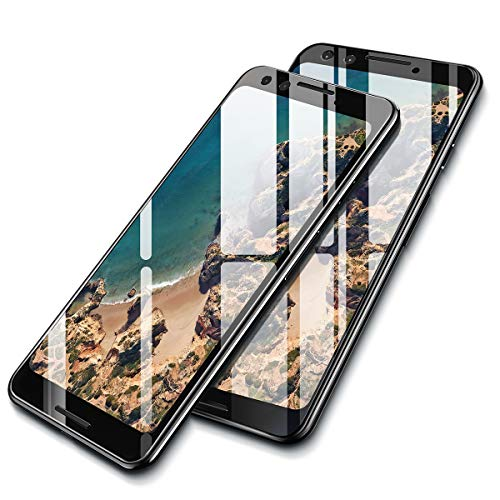 AINOPE [2-Pack] Screen Protector Tempered Glass Compatible Google Pixel 3, [Full-Coverage] Ainope Edge to Edge Screen Protector 0.33mm Compatible for Google Pixel 3 [Case Friendly] ()