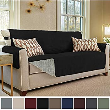 Attractive Gorilla Grip Original Slip Resistant Sofa Slipcover Protector, Suede Like,  Patent Pending, Slip Reducing Backing, 2 Inch Straps, Couch Furniture Cover  For ...