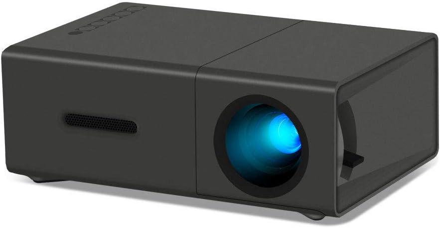 WHLDCD Proyector Mini proyector portátil de Cine en casa LED LCD ...