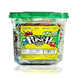 """Sour Punch 3"""" Individually Wrapped Assorted Flavor Twists, 2.78LB Jar"""