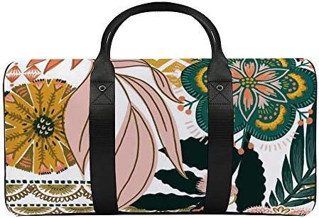 ボートロピックファップ1 旅行バッグナイロンハンドバッグ大容量軽量多機能荷物ポーチフィットネスバッグユニセックス旅行ビジネス通勤旅行スーツケースポーチ収納バッグ