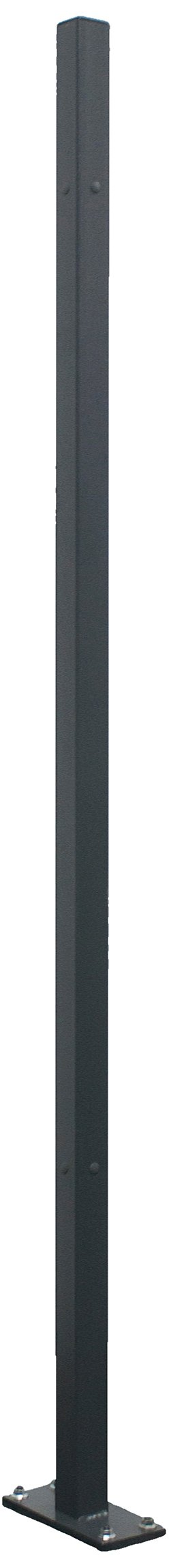 WireCrafters CP12 Square Steel Tubing Corner Post, 12'5-1/4'' Height