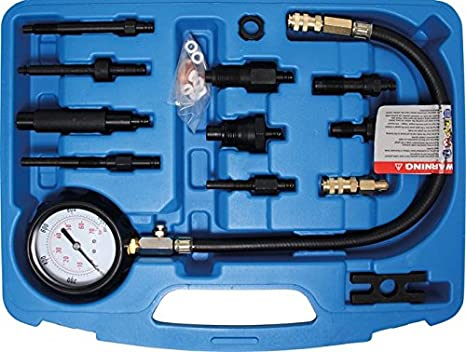 BGS Comprobador de compresión para motores diésel, 1 pieza, 8008: Amazon.es: Bricolaje y herramientas