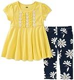 Kids Headquarters Toddler Girls' Tunic Set-Transitional, Yellow/Navy, 3T
