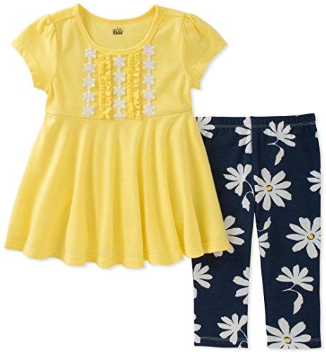 Kids Headquarters Toddler Girls' Tunic Set-Transitional, Yel