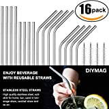 Here is Stainless Steel Drinking Straws. Made of food-grade 18/8 stainless steel, Stainless Steel Drinking Straws is reusable,clean and enviramental friendly,a perfect replacement for your plastic straws. Also a stylish accessory for your sta...