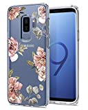 Spigen Liquid Crystal Galaxy S9 Plus Case Light but Durable Flexible Clear TPU Protection Samsung Galaxy S9 Plus (2018) - Blossom Flower
