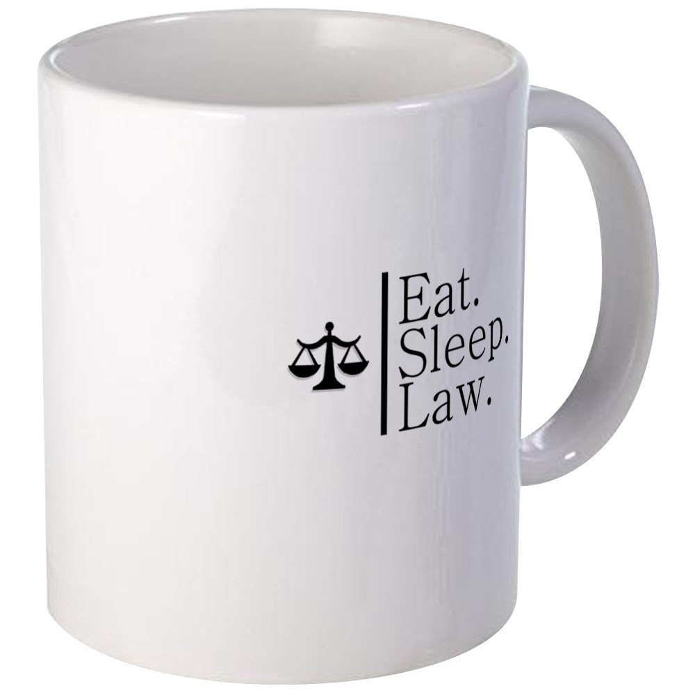 Sleep Scales 11oz mug Eat Law.