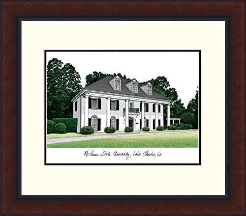(Campus Images LA996LR McNeese State University Alumnus Legacy Framed Lithograph)
