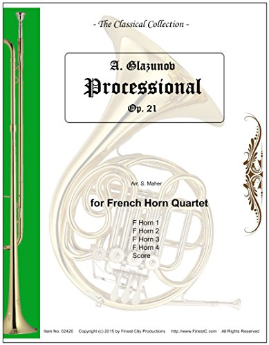 Procession (Wedding March) for French Horn Quartet