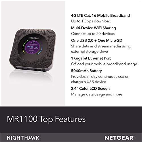 Netgear Nighthawk M1 Mobile Hotspot 4g Lte Router Deals Coupons