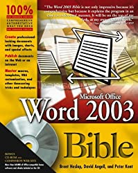 Microsoft Office Word 2003 Bible