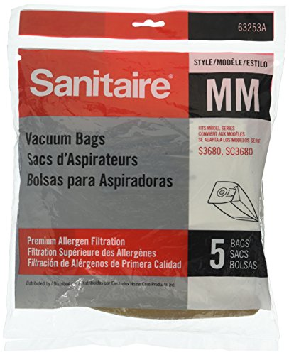 - Eureka Sanitaire By Electrolux Style MM Premium Allergen Filtration Bags 5pk 63253