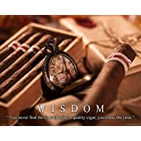 Cigar Motivational Poster Art Print Humidor Cuban Smoke Shop Success MVP631