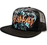 Def Leppard Sublimated Trucker Hat (Black)