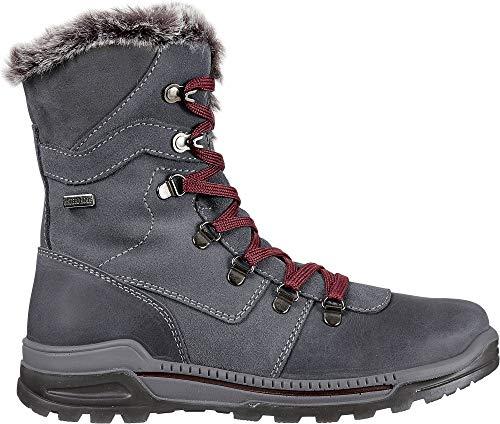 - Alpine Design Women's Benedetta Waterproof Winter Boots(Grey, 8.5 B (M) US)