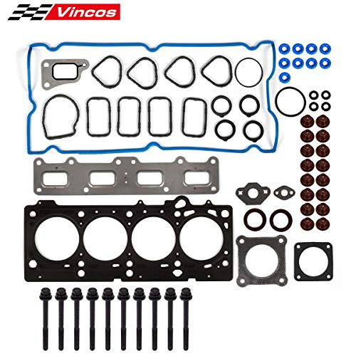 (Cylinder Head Gasket and Bolts kit Replacement For CHRYSLER PT CRUISER 2.4 16V2002-2009 DOHC VIN B)