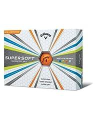 Callaway 2017 Supersoft Golf Balls (One Dozen) Multi