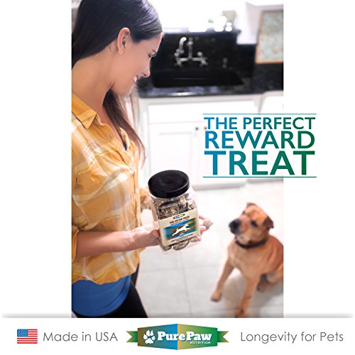 high-quality All Natural Salmon, Cod Skin, or Fish, Lobster & Kelp Training Treats Gluten & Grain Free for Adult, Senior, Puppy, Large or Small Breed Dogs & Cats