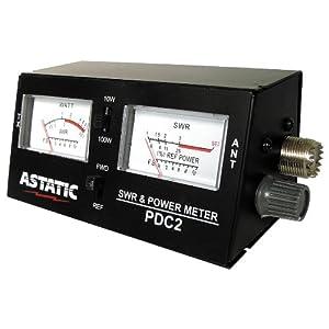 Astatic (302-PDC2) SWR/RF/Field Strength Test Meter