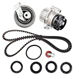 ECCPP TBK306AWPT Fits 01 - 06 Audi A4 Quattro Volkswagen Passat 1.8 TURBO DOHC AWM, AMB Timing Belt Kit Water Pump