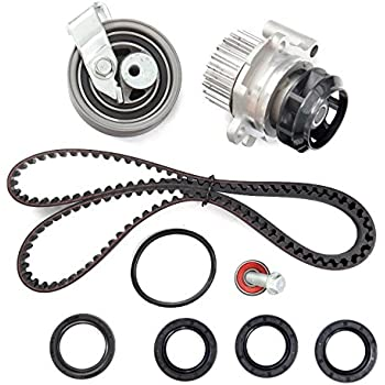 ECCPP TBK306AWPT Fits 01-06 Audi A4 Quattro Volkswagen Passat 1.8 TURBO DOHC AWM, AMB Timing Belt Kit Water Pump