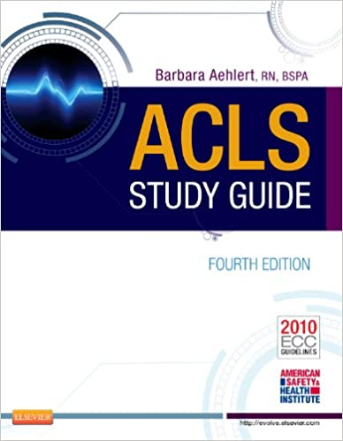 ACLS Study Guide Barbara Aehlert 9780323084499