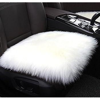 Amazon Com Villsure Faux Sheepskin Car Seat Cushion Fur