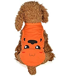 Clearance Pet Clothes Cinsanong New Cartoon Lovely Cute Puppy Apparel Dog Spring and Summer Vest Costumes