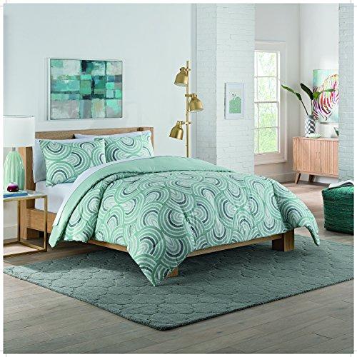 Vue Frenchy Comforter Set, Queen, Sage